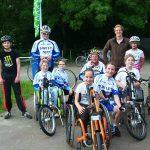 Trainingsgroep aangepast wielrennen 2016