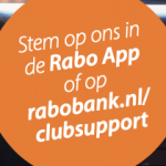 Stem op Swift bij RABO ClubSupport!